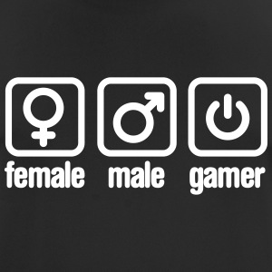 Female - Male - Gamer T-Shirts - Männer T-Shirt atmungsaktiv