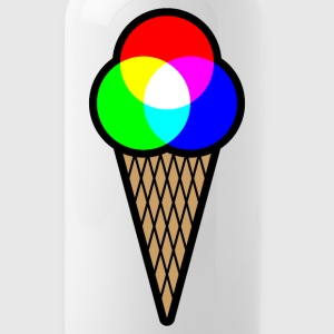 RGB Ice (Red Green Blue Ice Cream) Water Bottle - Water Bottle
