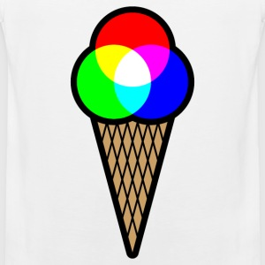 RGB Ice (Red Green Blue Ice Cream) Sports wear - Men's Premium Tank Top