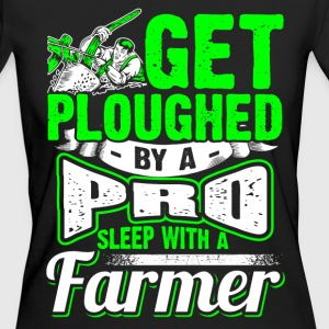 Get Ploughed by a Pro - Farmer - EN T-shirts - Organic damer