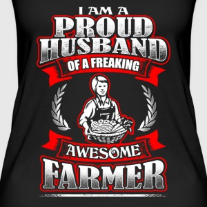 Proud Husband - Farmer - EN Topper - Øko-singlet for kvinner