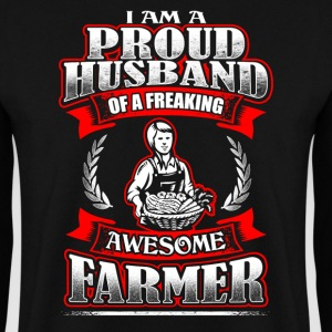 Proud Husband - Farmer - EN Sweat-shirts - Sweat-shirt Homme