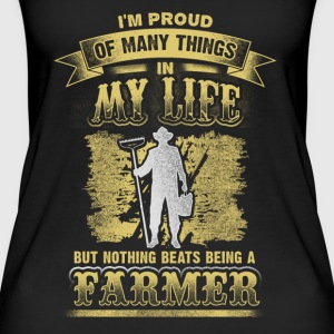 Proud of many things - farmer - EN Tops - Camiseta de tirantes orgánica mujer