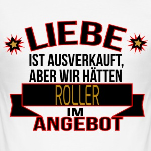 ROLLER T-Shirts - Männer Slim Fit T-Shirt