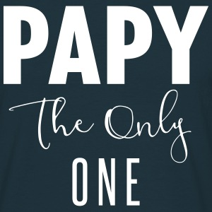 papy the only one Tee shirts - T-shirt Homme