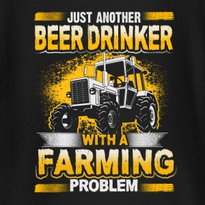 Beer Drinker - Farming Problem - EN baby shirts met lange mouwen - T-shirt