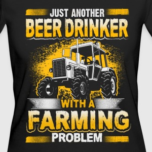 Beer Drinker - Farming Problem - EN T-shirts - Ekologisk T-shirt dam
