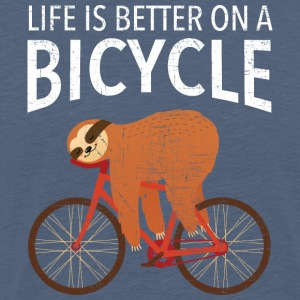 Life Is Better On A Bicycle T-Shirts - Männer Premium T-Shirt