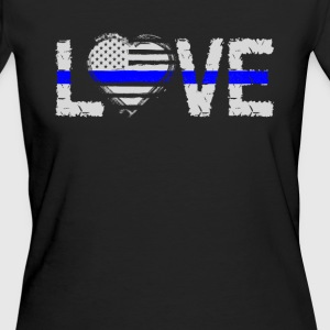 love - Blue Line T-shirts - Ekologisk T-shirt dam