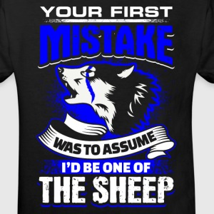 Your First Mistake - Blue Line - EN Tee shirts - T-shirt Bio Enfant
