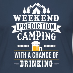 Weekend Prediction with a chance of drinking Langarmshirts - Frauen Premium Langarmshirt