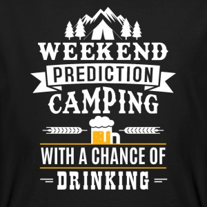 Weekend Prediction with a chance of drinking T-Shirts - Männer Bio-T-Shirt