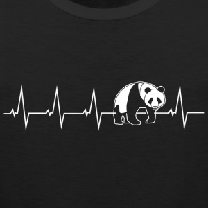 Panda - heartbeat Sports wear - Men's Premium Tank Top