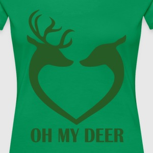 Oh my deer - Frauen Premium T-Shirt