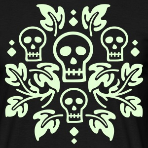 Day of the Dead Skulls - Men's T-Shirt