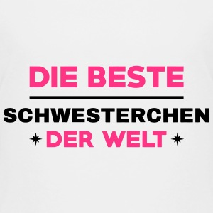 Sister Friend Schwester Soeur Sœur Baby Birth Shirts - Kids' Premium T-Shirt
