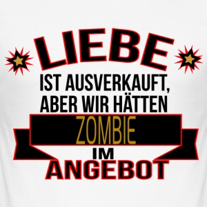 ZOMBIE T-Shirts - Männer Slim Fit T-Shirt