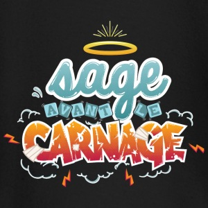 Sage avant le carnage Tee shirts manches longues Bébés - T-shirt manches longues Bébé