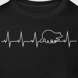 Raccoon - heartbeat Shirts - Kids' Organic T-shirt