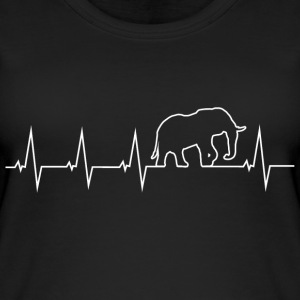 Elefant - Heartbeat Tops - Frauen Bio Tank Top