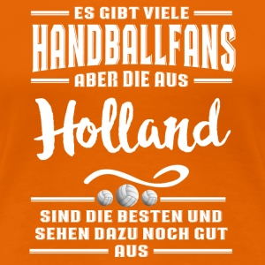 Handball Holland  T-Shirts - Frauen Premium T-Shirt