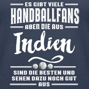 Handball Indien Tops - Frauen Premium Tank Top