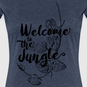 Welcome to the Jungle - Frauen Premium T-Shirt