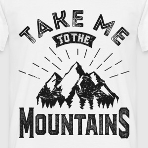 Mountains - Men's T-Shirt