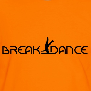 Orange/schwarz Breakdance T-Shirts - Männer Kontrast-T-Shirt