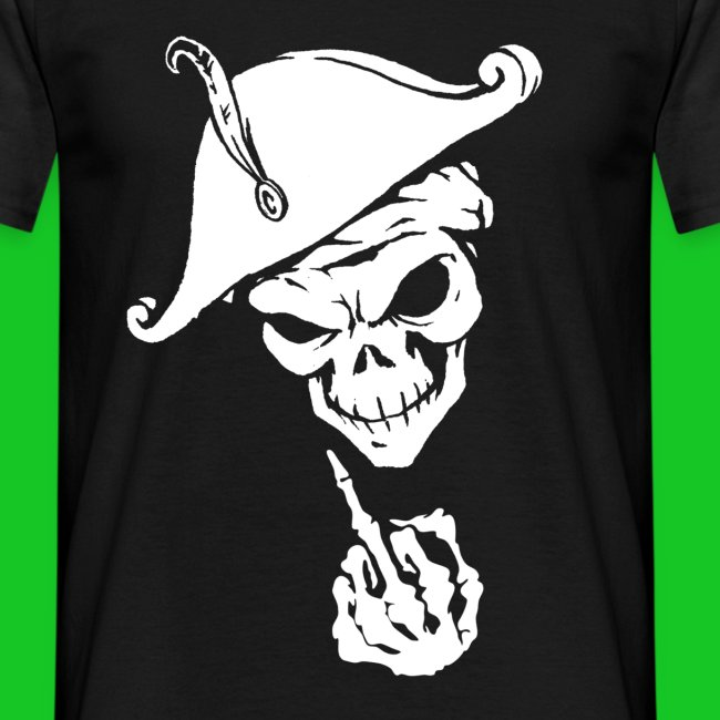 Fuck you skull heren t-shirt