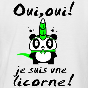 UNE LICORNE (panda) Tee shirts - T-shirt baseball manches courtes Homme