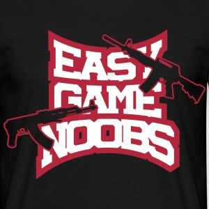 easy game noobs T-Shirts - Männer T-Shirt