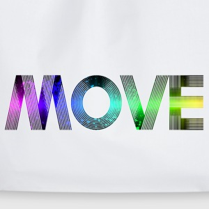 move / Fitness Sport Motivation  - Turnbeutel