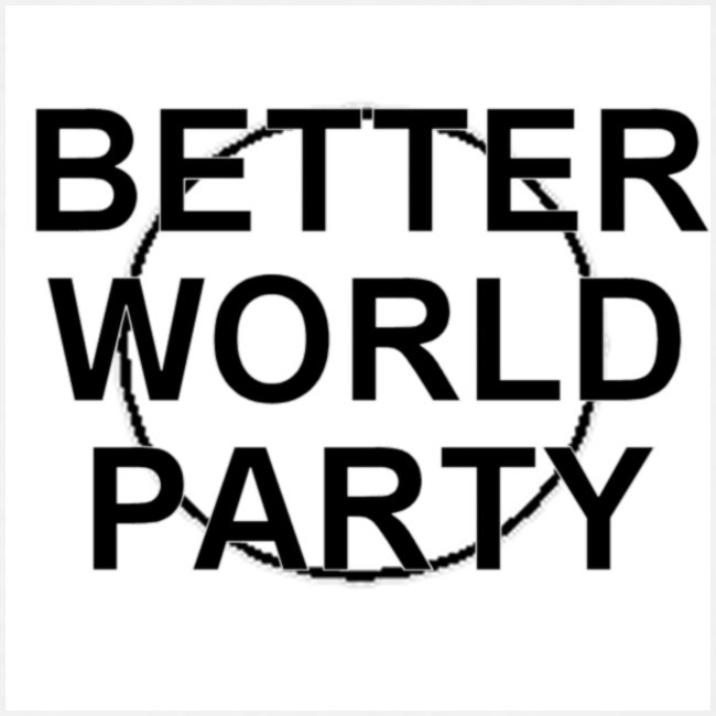 BETTER WORLD PARTY - T-SHIRT (Men)