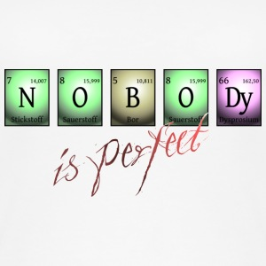 nobody is perfect in chemical elements - Frauen Bio Tank Top