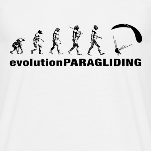 evolution Paragliding - Männer T-Shirt