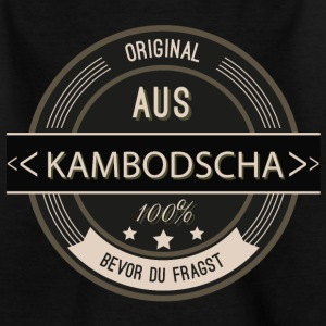 Original aus Kambodscha 100% T-Shirts - Teenager T-Shirt