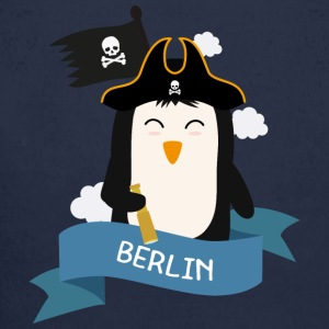 Pinguin Piraten Kapitän aus BERLIN S8n0oz Baby Bodys - Baby Bio-Langarm-Body