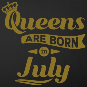 Queens are born in july July birthday Crown Other - Sofa pillow cover 44 x 44 cm