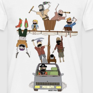 pirate ship car T-Shirts - Men's T-Shirt