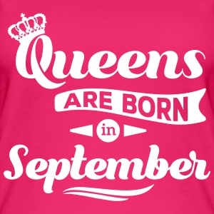Queens are born in september Geburtstag Krone Tops - Frauen Bio Tank Top