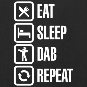Eat - Sleep - The Dab - Repeat (Dabbing) Shirts met lange mouwen - Kinderen Premium shirt met lange mouwen
