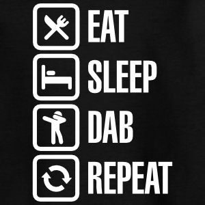 Eat - Sleep - The Dab - Repeat (Dabbing) T-Shirts - Kinder T-Shirt