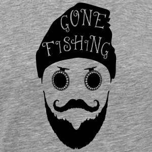 Gone Fishing - Männer Premium T-Shirt