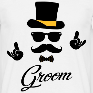 Groom Wedding Marriage Stag do night bachelor T-Shirts - Men's T-Shirt