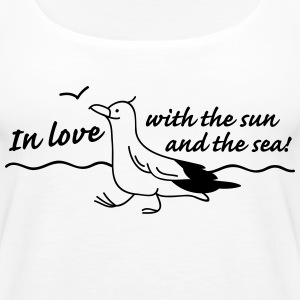 In love Tops - Women's Premium Tank Top