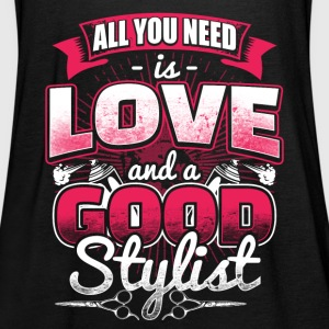 All you need is Love - Hair Stylist - EN Topper - Singlet for kvinner fra Bella