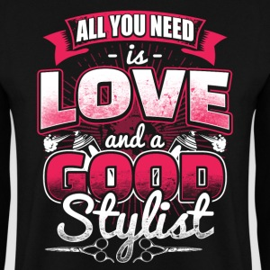 All you need is Love - Hair Stylist - EN Tröjor - Herrtröja