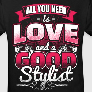 All you need is Love - Hair Stylist - EN Shirts - Kinderen Bio-T-shirt