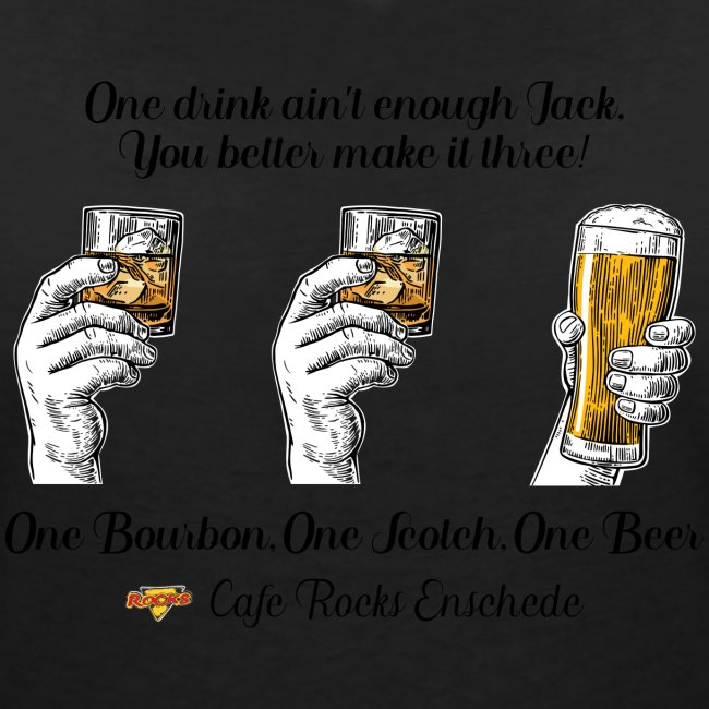 One Bourbon, One Scotch, One Beer {Ladies)